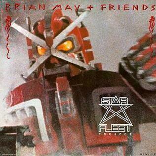 "Brian May + Friends ""Star Fleet Project"" NM- 1983"