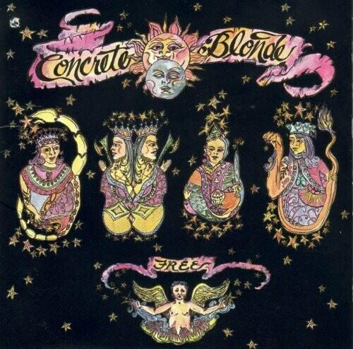 """Concrete Blonde """"Free"""" NM 1989/re.2017"""