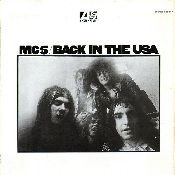 "MC5 ""Back In The USA"" VG+ 1970"