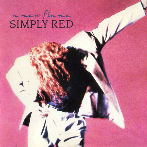 """Simply Red """"A New Flame"""" EX+ 1989"""