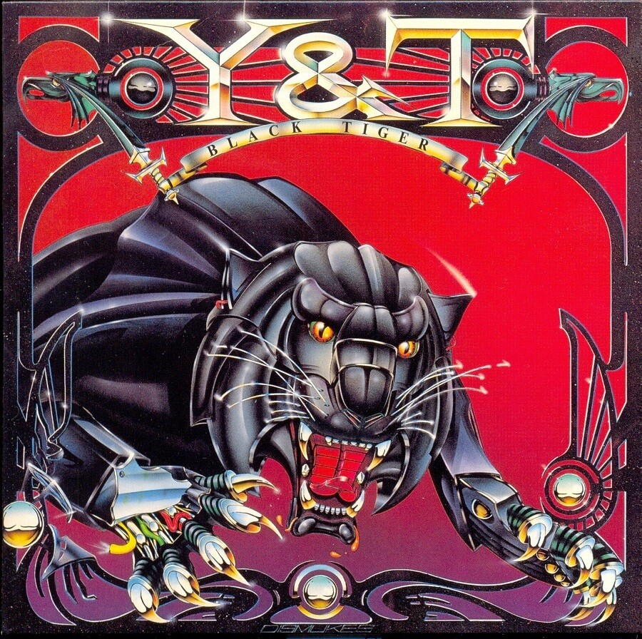 "Y & T ""Black Tiger"" NM- 1982"