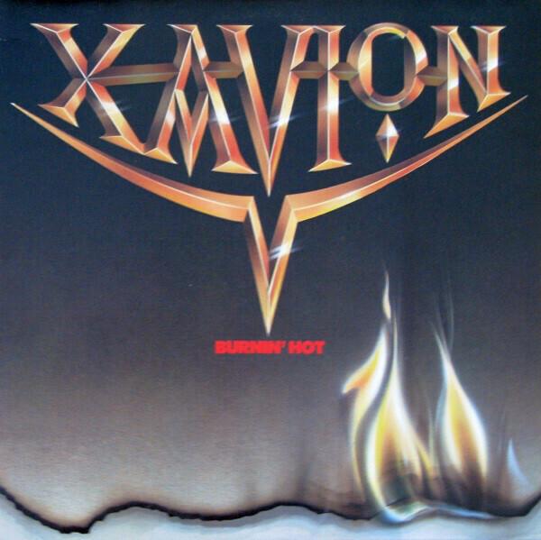"""Xavion """"Burnin' Hot"""" EX+ 1984"""
