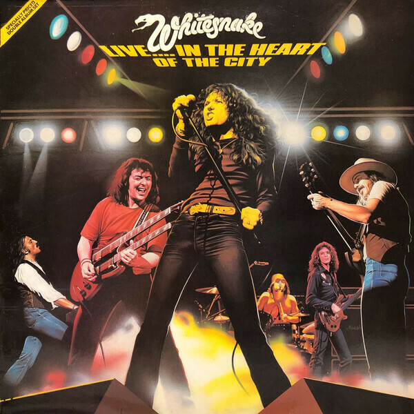 "Whitesnake ""Live... In The Heart Of The City"" EX+ 1980"