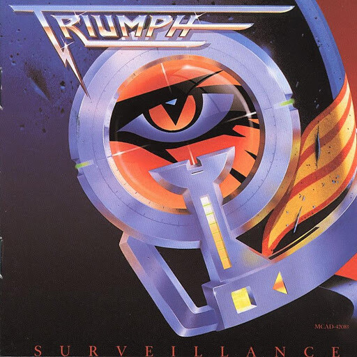 "Triumph ""Surveillance"" EX+ 1987"