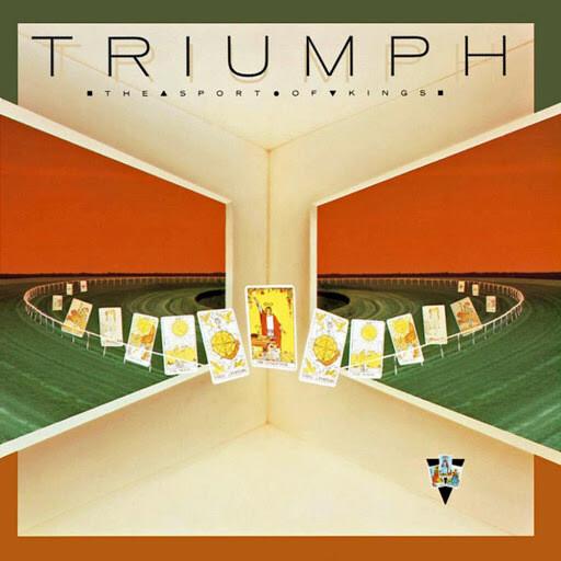 "Triumph ""The Sport Of Kings"" EX+ 1986 *w/insert!*"