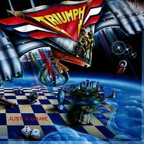 """Triumph """"Just A Game"""" EX+ 1979"""