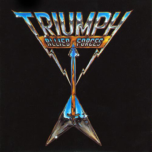 """Triumph """"Allied Forces"""" NM- 1981"""