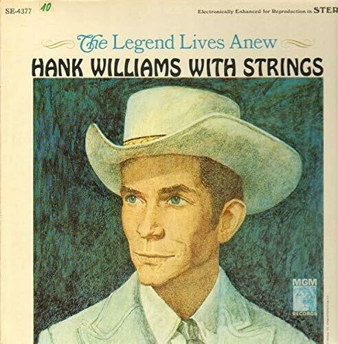"Hank Williams ""The Legend Lives Anew: ...With Strings"" VG+ 1966"