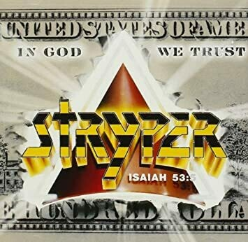 "Stryper ""In God We Trust"" NM 1988 *w/inserts!*"