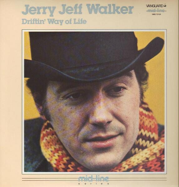 "Jerry Jeff Walker ""Driftin' Way Of Life"" NM- 1969/re.1985"
