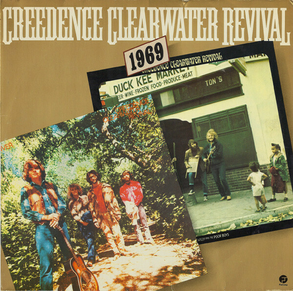 "Creedence Clearwater Revival ""1969"" EX+ 1978 {2xLPs!}"
