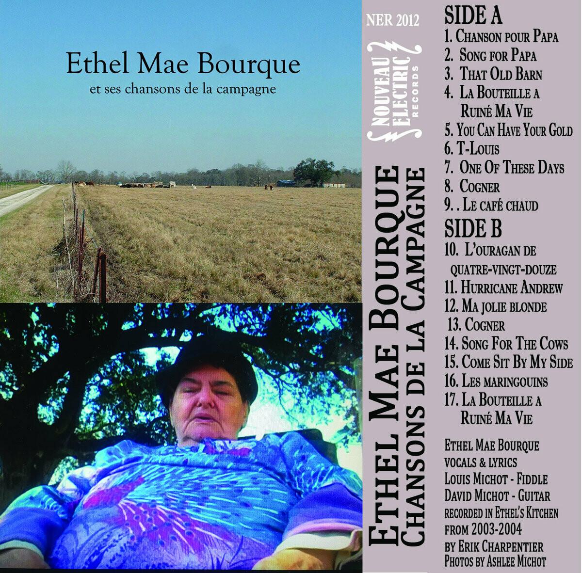"""Ethel Mae Bourque """"et ses chansons de la campagne"""" *TAPE*"""
