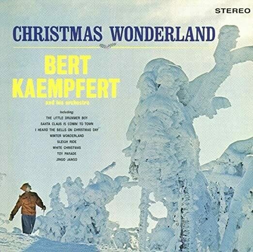 """Bert Kaempfert """"Christmas Wonderland"""" VG 1963"""