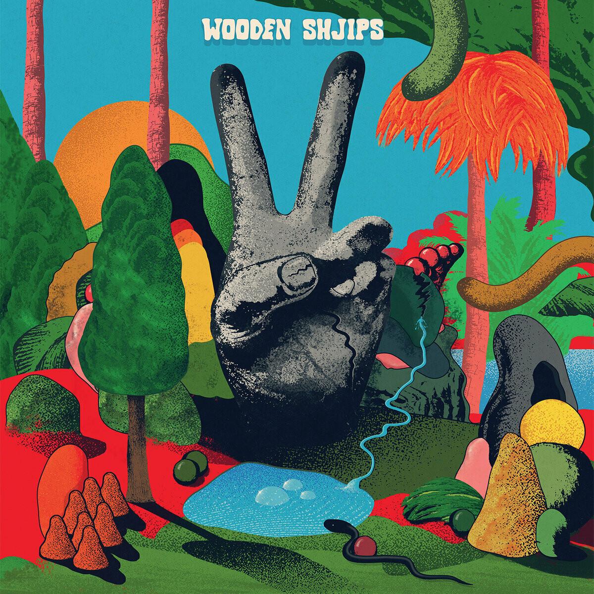 "Wooden Shjips ""V."" *Opaque Red Vinyl*"