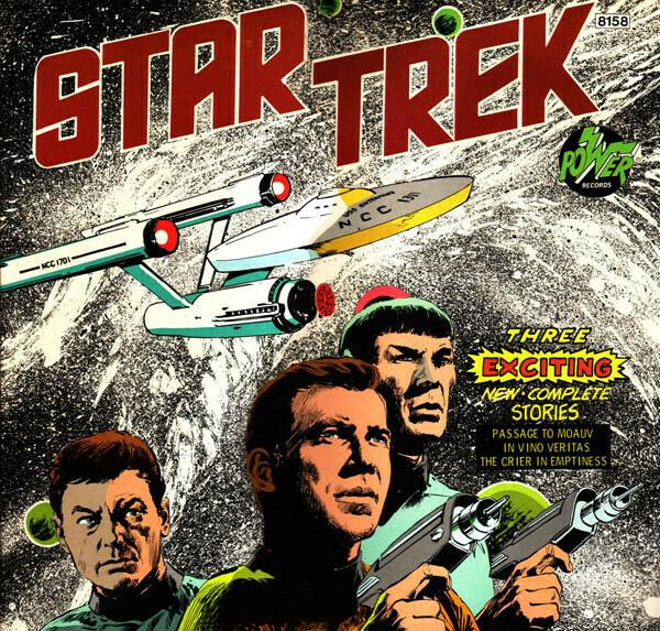 """Unknown Artist """"Star Trek"""" (G+) 1975 [m526774]"""