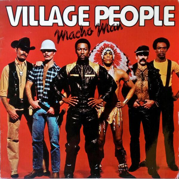 "Village People ""Macho Man"" NM- 1978"