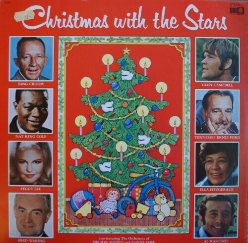 "Various ""Christmas With The Stars"" VG+ 1973"