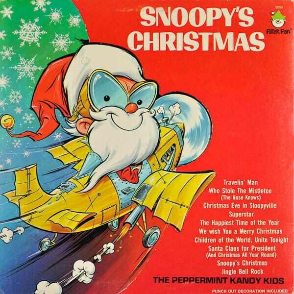 "The Peppermint Kandy Kids ""Snoopy's Christmas"" VG- 1977"
