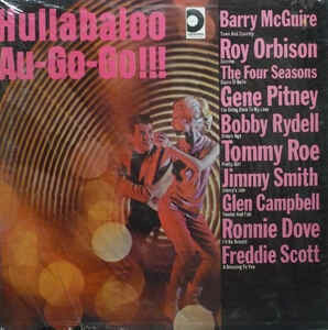 """Various """"Hullabaloo Au-Go-Go"""" VG+ 1966"""