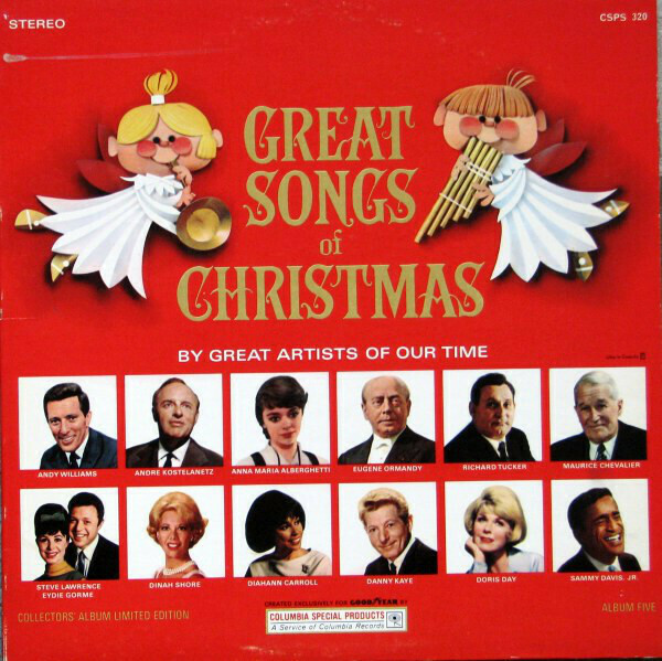"""Various """"The Great Songs Of Christmas: Album 5"""" VG+ 1966"""