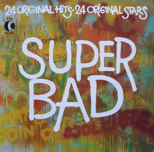 """K-Tel Presents """"Super Bad"""" VG- 1973 [m407010]"""