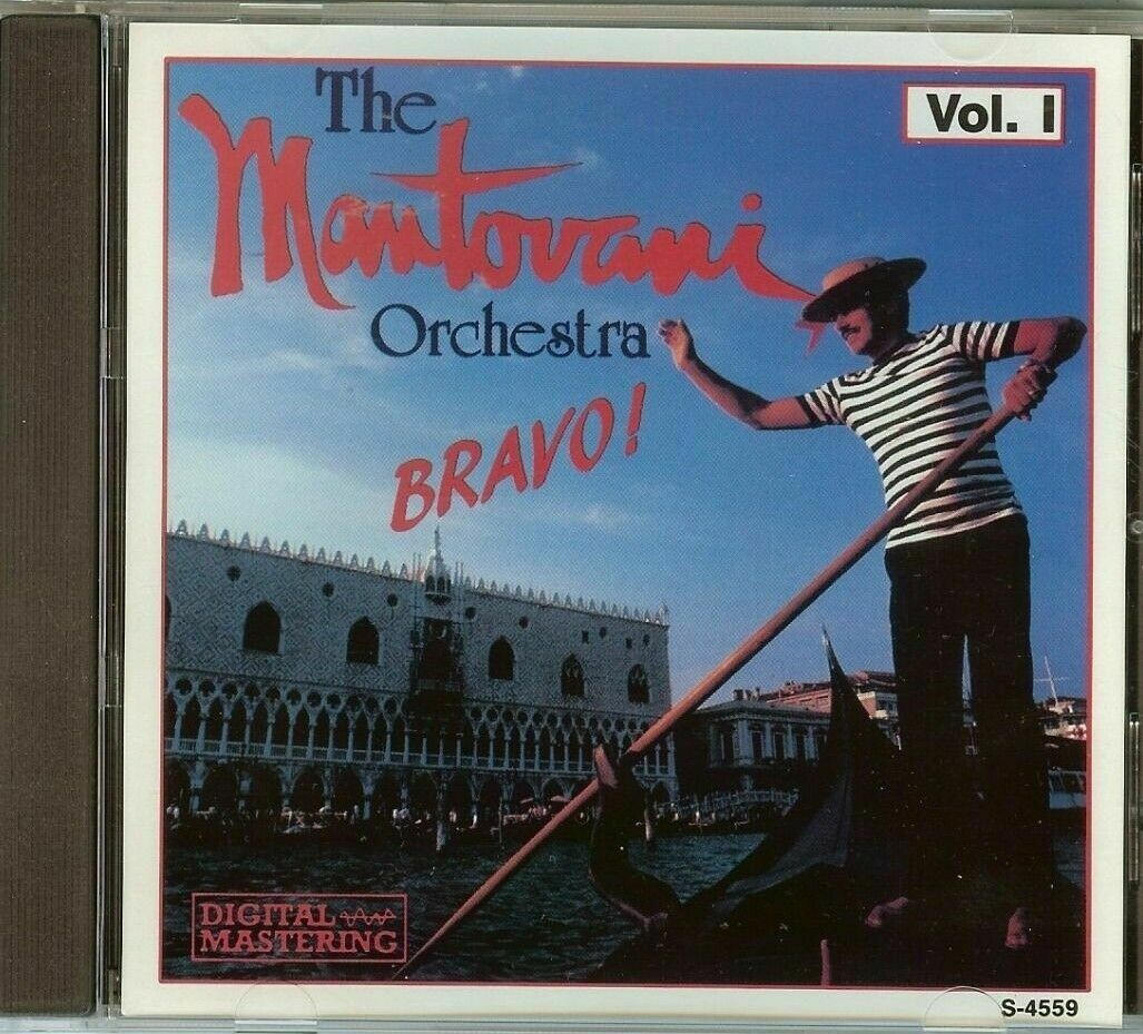"{DSCGS} The Mantovani Orchestra ""Bravo! Vol. 1"" *CD*"