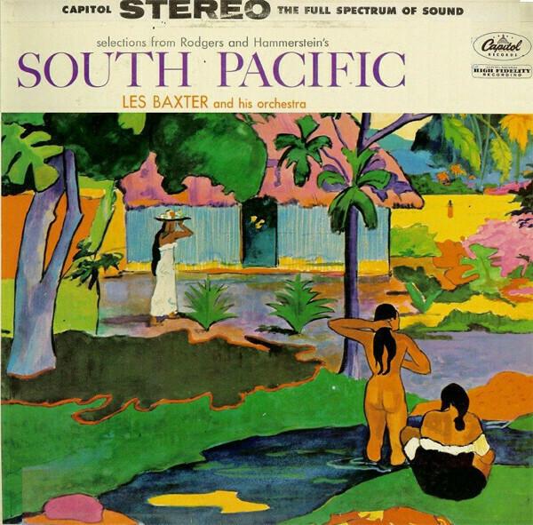 """Les Baxter """"South Pacific"""" VG+ 1958"""