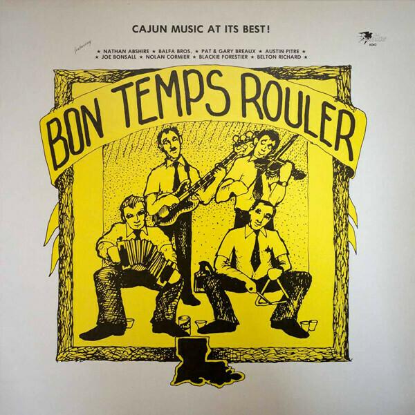 """Various """"Bon Temps Rouler"""" VG 1981"""