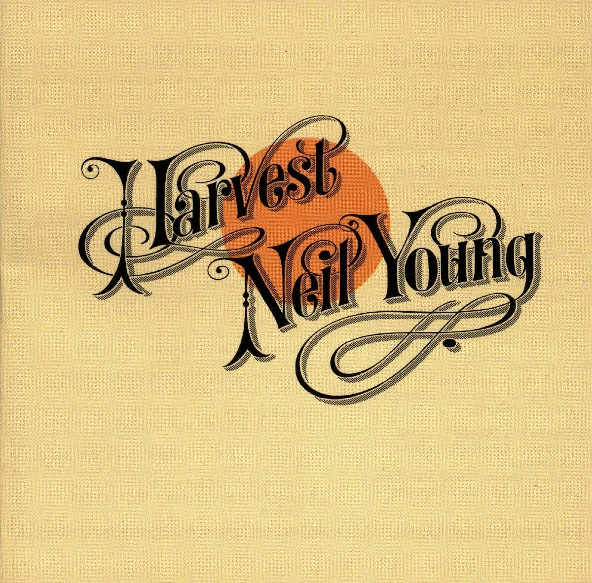 "Neil Young ""Harvest"" VG+ 1972 *w/insert!* [r7398482]"
