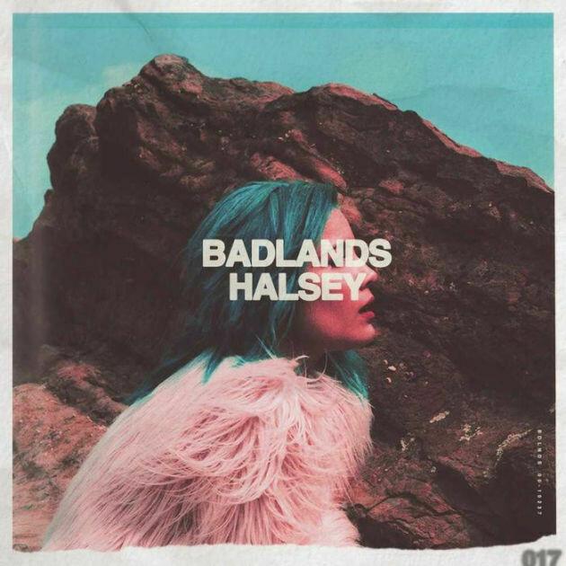 "Halsey ""Badlands"" NM 2016 *pink vinyl!*"