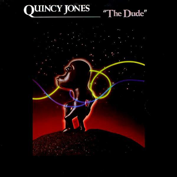 """Quincy Jones """"The Dude"""" VG+ 1981"""