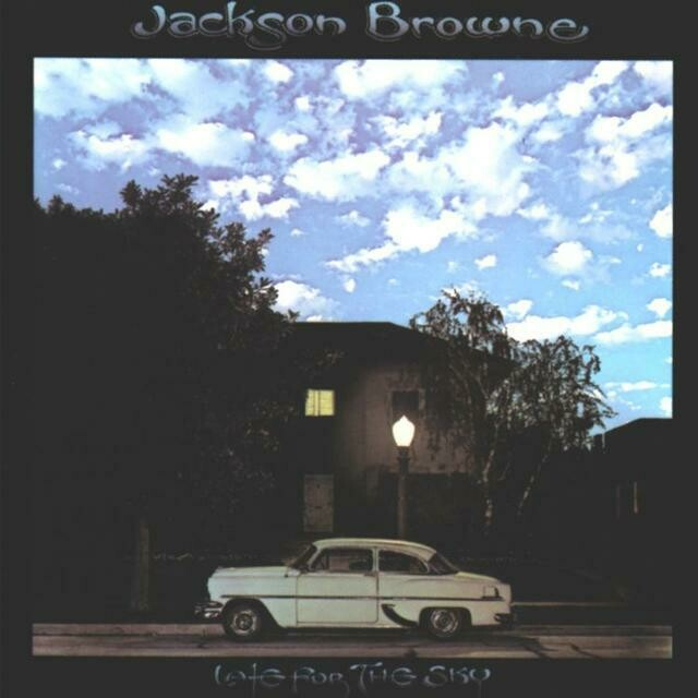 "Jackson Browne ""Late For The Sky"" EX+ 1974"