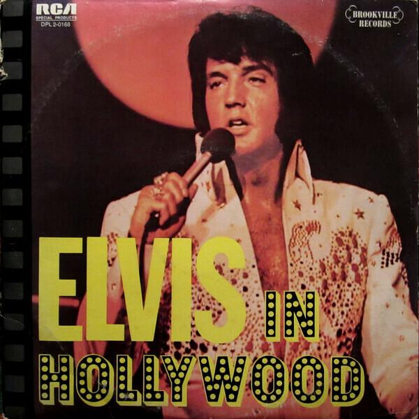 """Elvis Presley """"Elvis In Hollywood"""" EX+ 1976 {2xLPs!}"""