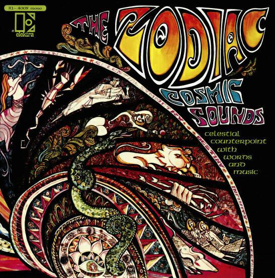 "The Zodiac ""Cosmic Sounds"" VG 1967 *MORT GARSON*"
