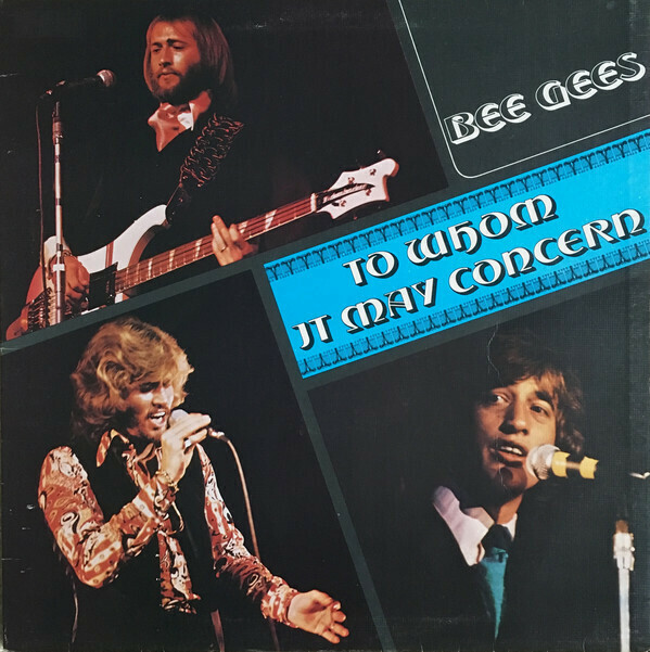 """Bee Gees """"To Whom It May Concern"""" VG+ 1972"""