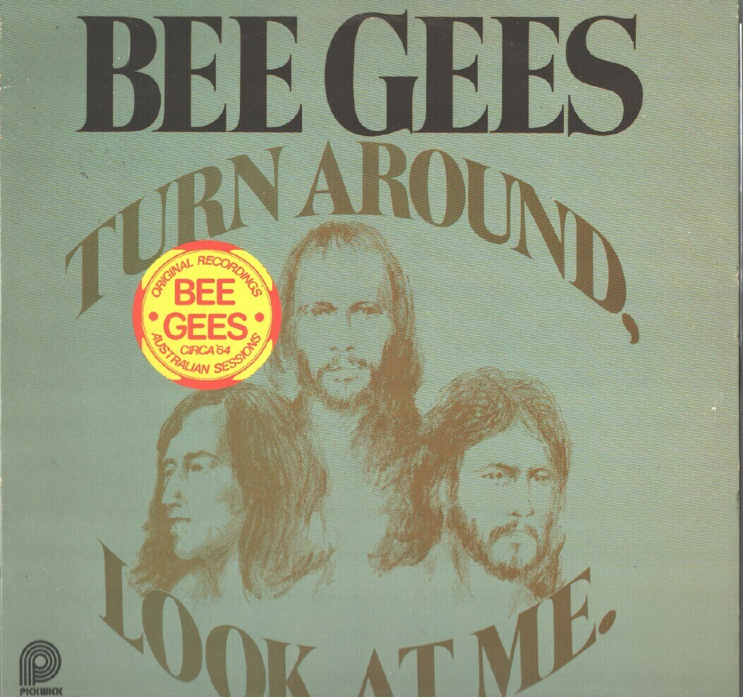 "Bee Gees ""Turn Around, Look At Me"" EX+ 1978"