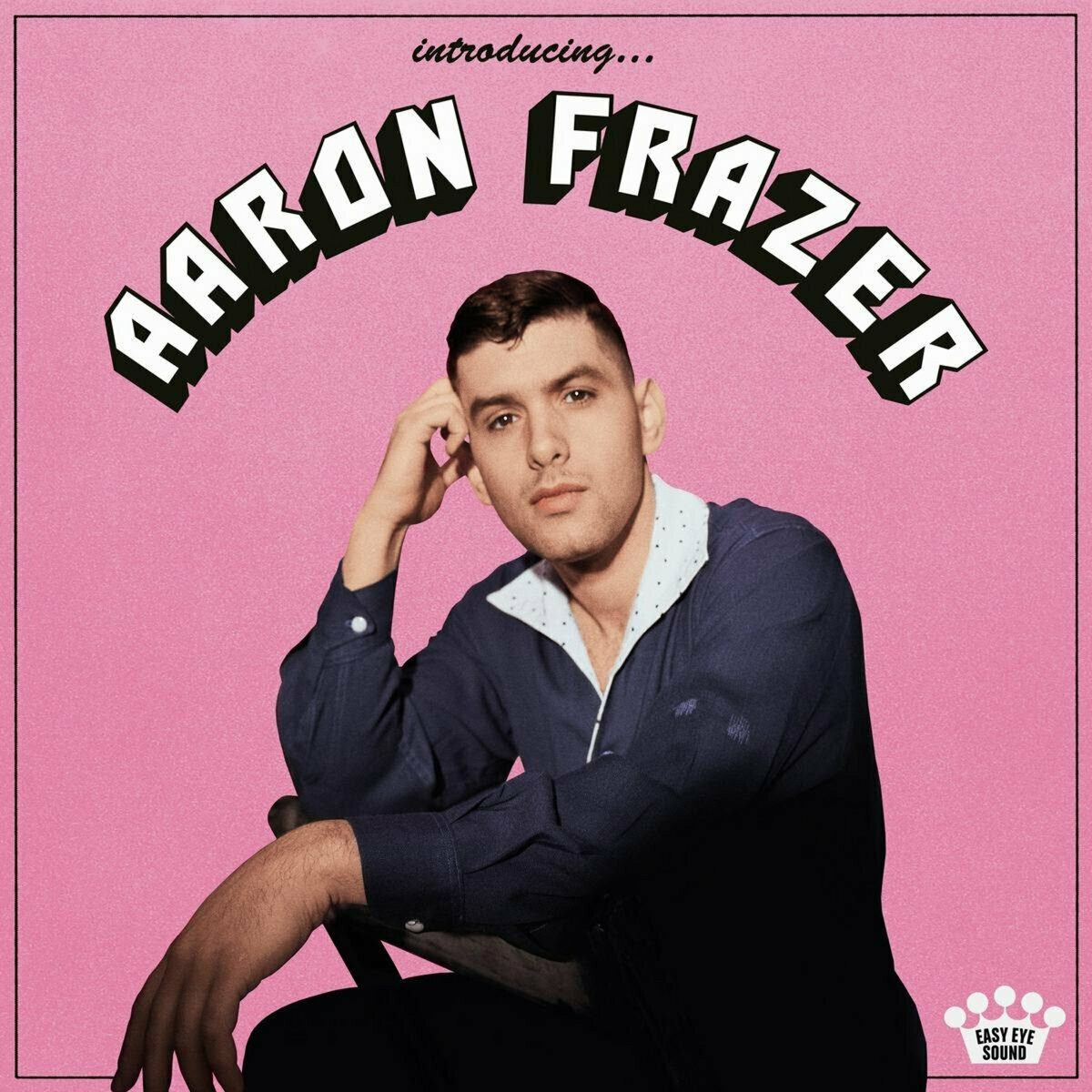 "Aaron Frazer ""Introducing..."" *Exclusive Translucent Pink Glass Vinyl*"