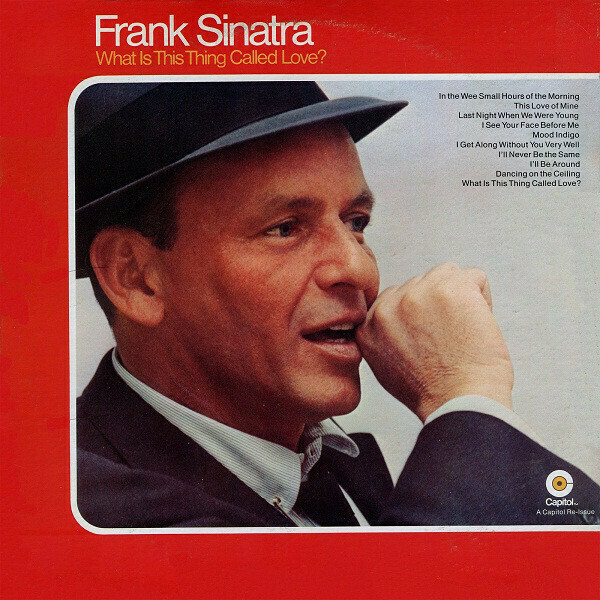 "Frank Sinatra ‎""What Is This Thing Called Love?"" VG+ 1970/re.1978 {2xLPs!}"