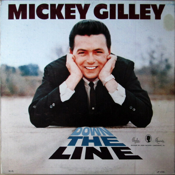 "Mickey Gilley ‎""Down The Line"" EX+ 1967 *MONO*"