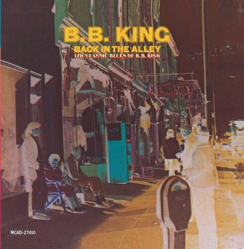"""B.B. King """"Back In The Alley"""" EX+ 1973"""