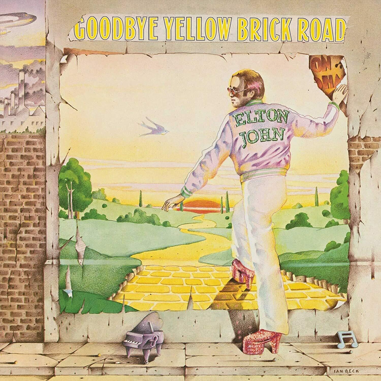 "Elton John ""Goodbye Yellow Brick Road"""
