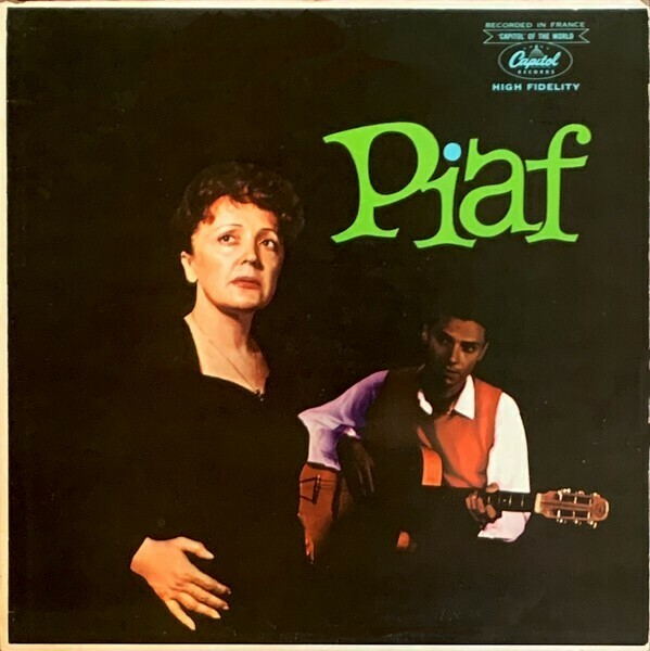 "Edith Piaf w/ Robert Chauvigny Orch. ""Piaf!"" NM- 1959 *MONO*"