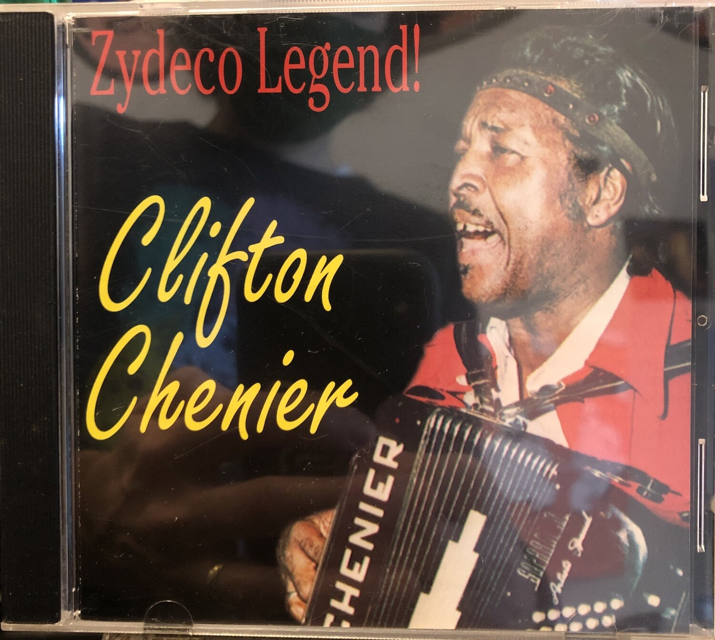 "Clifton Chenier ""Zydeco Legend!"" *CD* 1989"
