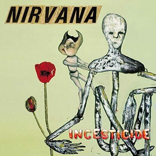 "Nirvana ""Incesticide"" *CD* 1992"