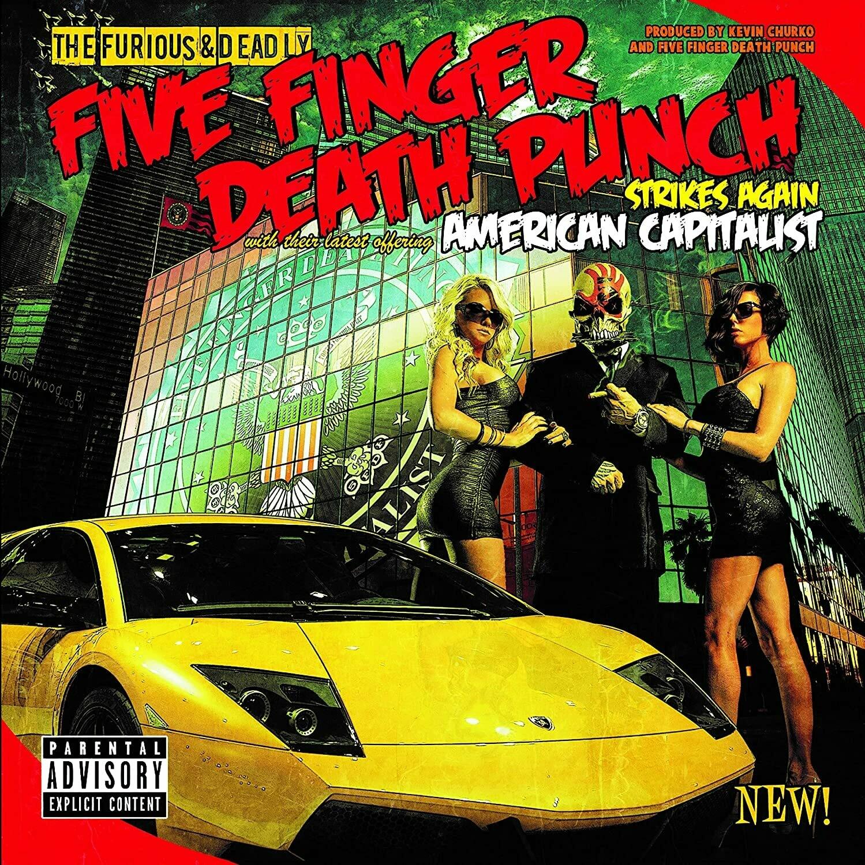 "Five Finger Death Punch ""American Capitalist"" *CD* 2011"