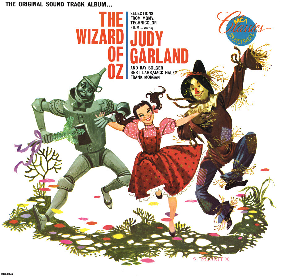 """Various """"The Wizard Of Oz (OST)"""" VG+ 1956/re.1968"""