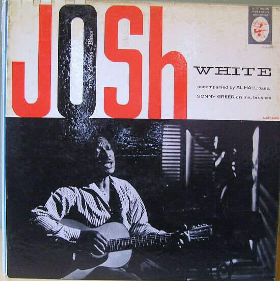 """Josh White """"Sings Ballads - Blues"""" VG 1957 *MONO*"""