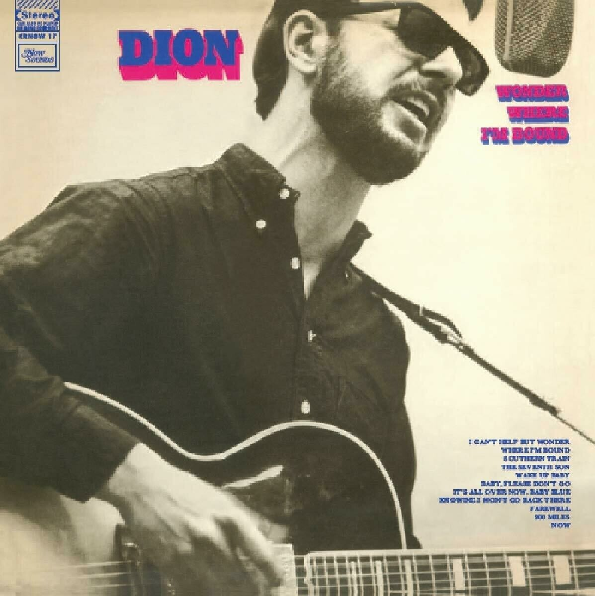 """Dion """"Wonder Where I'm Bound"""" VG+ 1969 [r3368947]"""
