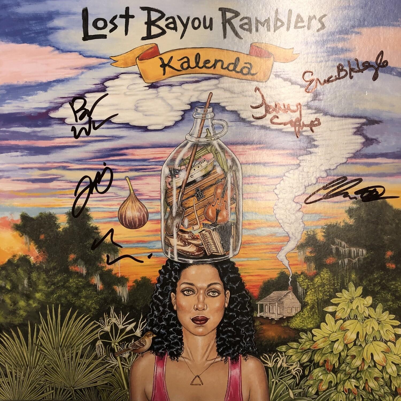 "Lost Bayou Ramblers ""Kalenda"" *LP* 2017 {AUTOGRAPHED!}"