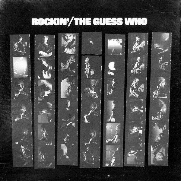 """The Guess Who """"Rockin'"""" VG+ 1972"""